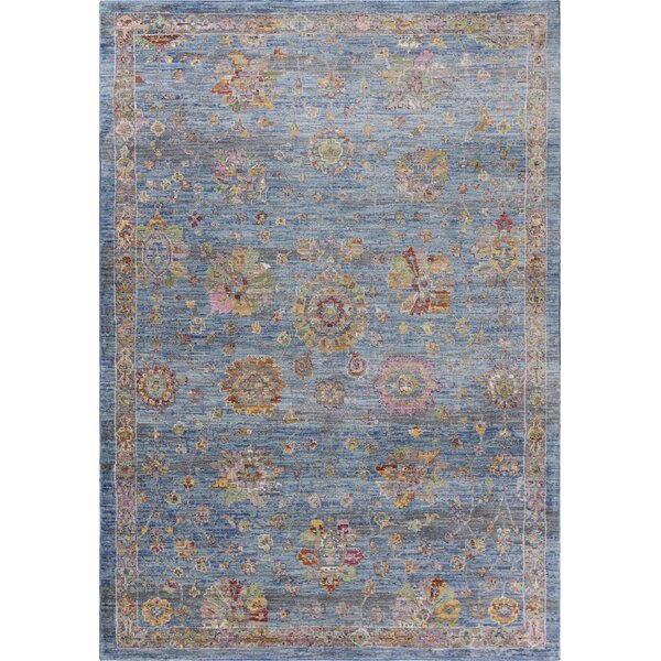 Vermillion Blue Area Rug by Charlton Home