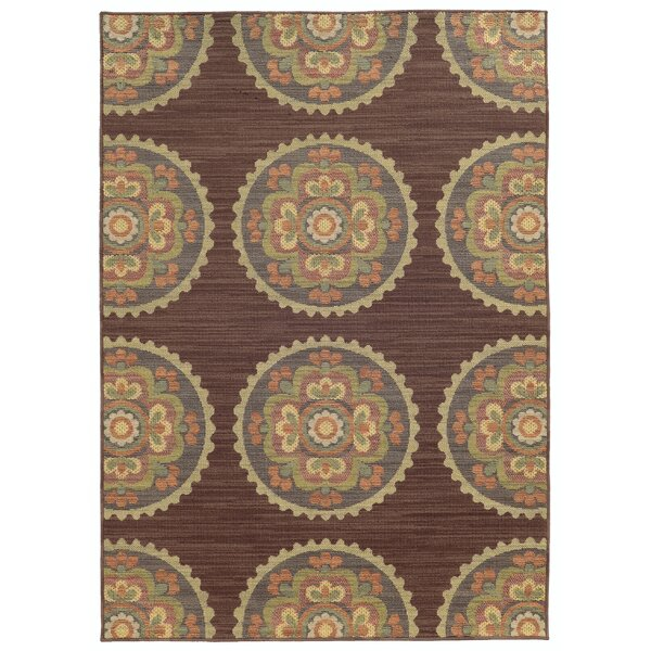 Tommy Bahama Cabana Brown Indoor/Outdoor Area Rug by Tommy Bahama Home