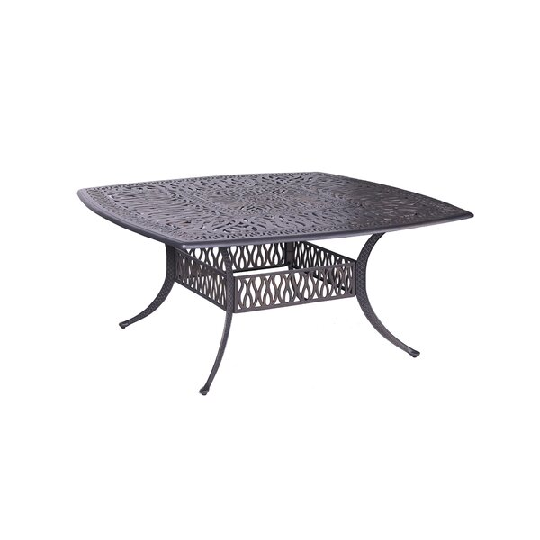 Bean Metal Dining Table by Fleur De Lis Living