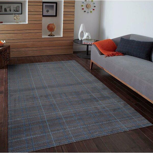 Cretien Gray Indoor/Outdoor Area Rug by Ebern Designs
