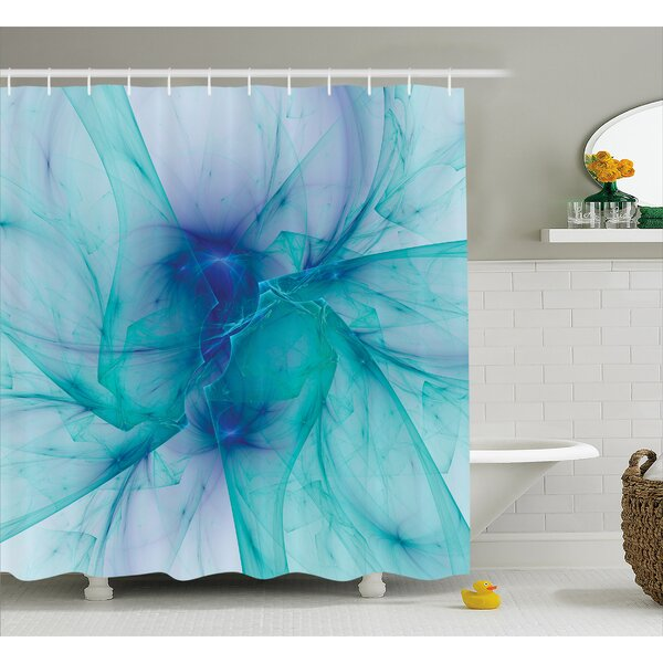 Camillei Modern Creative Artwork Shower Curtain by Ebern Designs