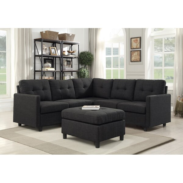 Westerleigh Modular Sectional with Ottoman by Winston Porter