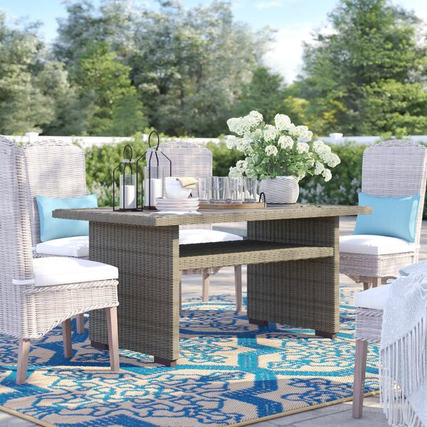 Lauzon Dining Table by Sol 72 Outdoor