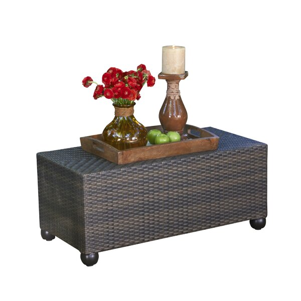 Atlantic Wicker Coffee Table by Inspired Visions