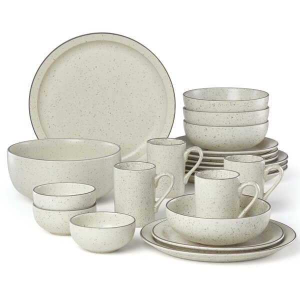 Kallan 16 Piece Dinnerware Set, Service for 4 by Dansk