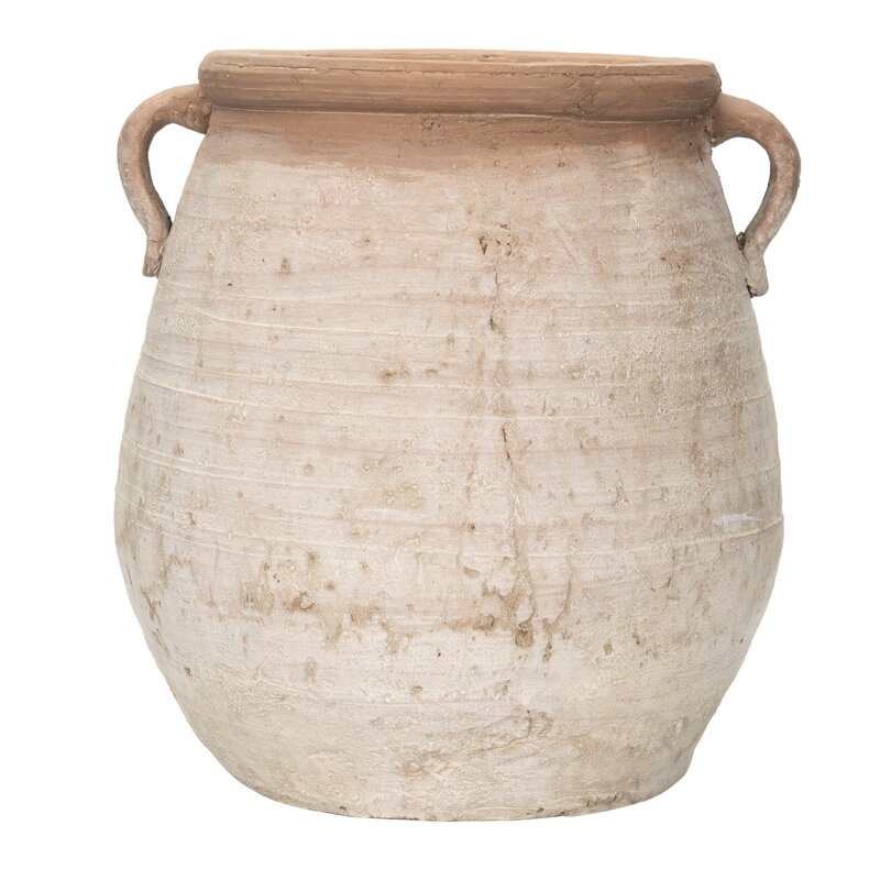 Iseminger Large Terracotta Table Vase