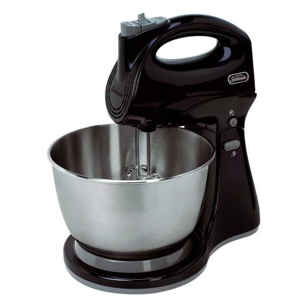 Hand & Stand 3 Qt. 5 Speed Mixer by Sunbeam