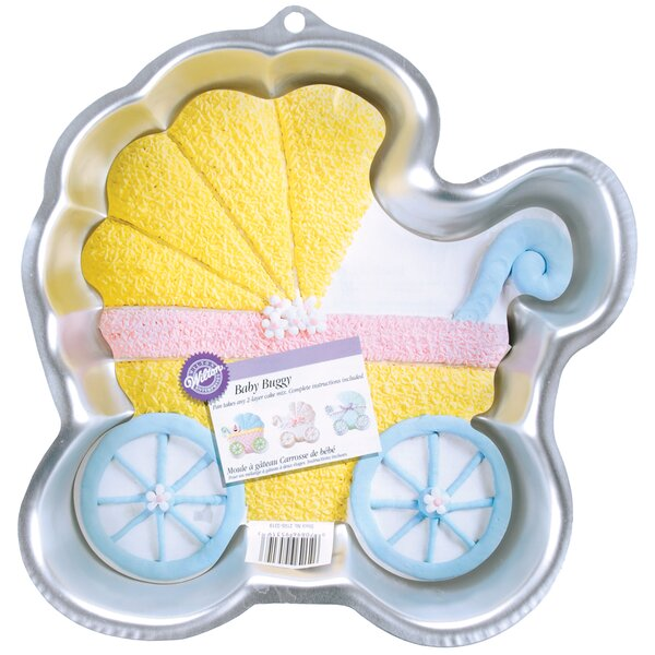 Baby Buggy Novelty Cake Pan by Wilton