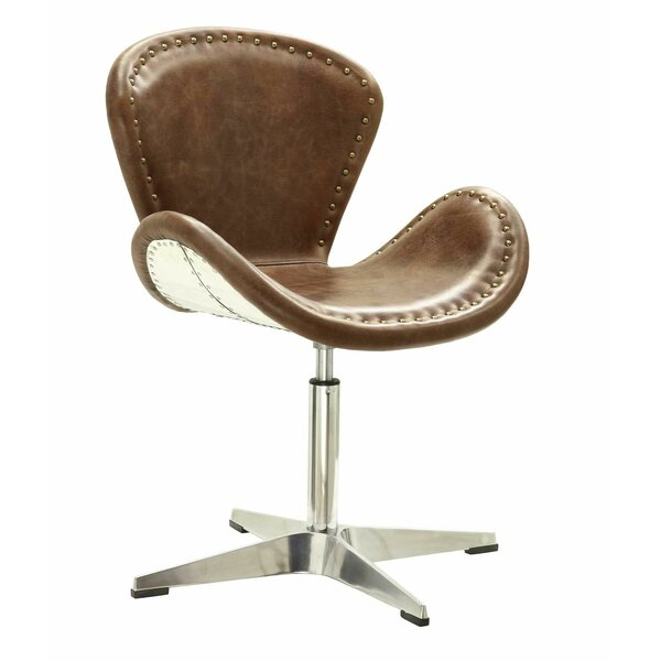 Houston Retro Swivel Side Chair By 17 Stories