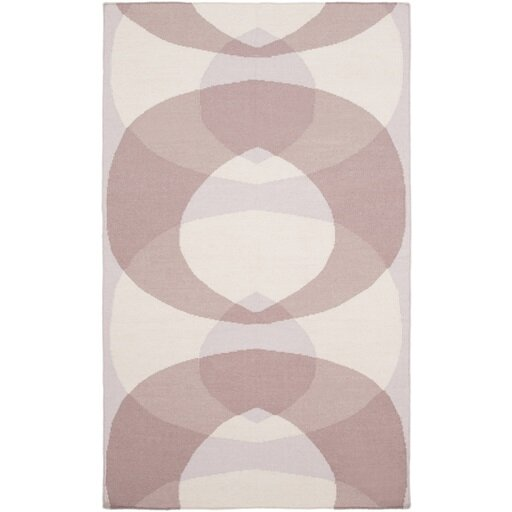 Aikens Hand-Woven Pink/Purple Area Rug by Latitude Run