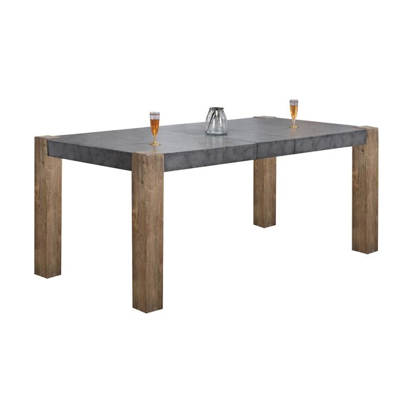 Huang Extendable Dining Table by Union Rustic