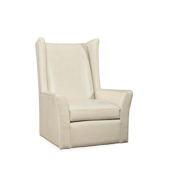 Gustafson Swivel Wingback Chair by Red Barrel Studio