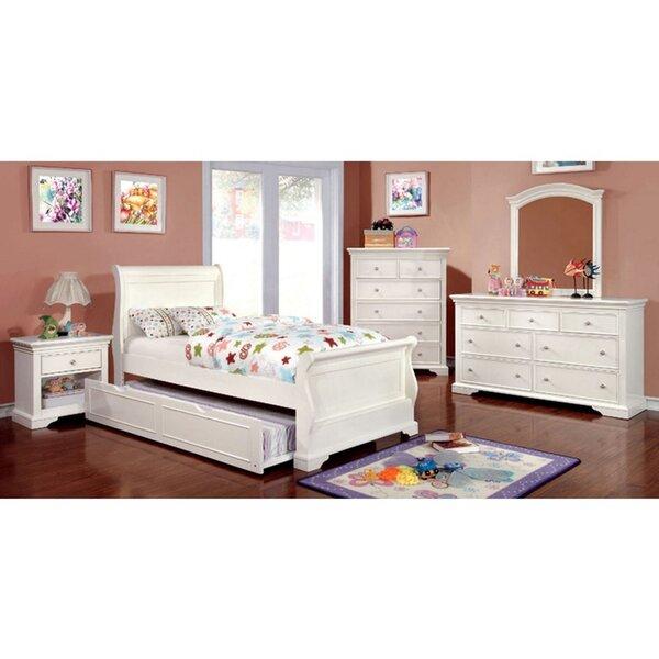 Sanger Sleigh 4 Piece Bedroom Set by Harriet Bee Harriet Bee