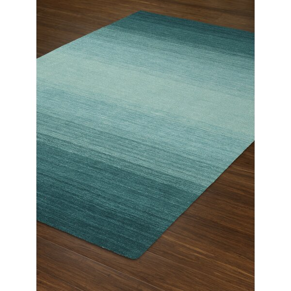 Louisa Teal Area Rug by Latitude Run