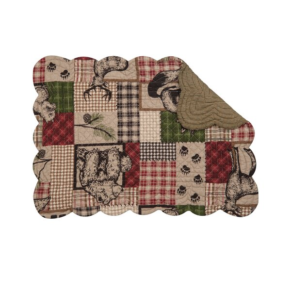Caleb 19 Placemat (Set of 6) by C&F Home