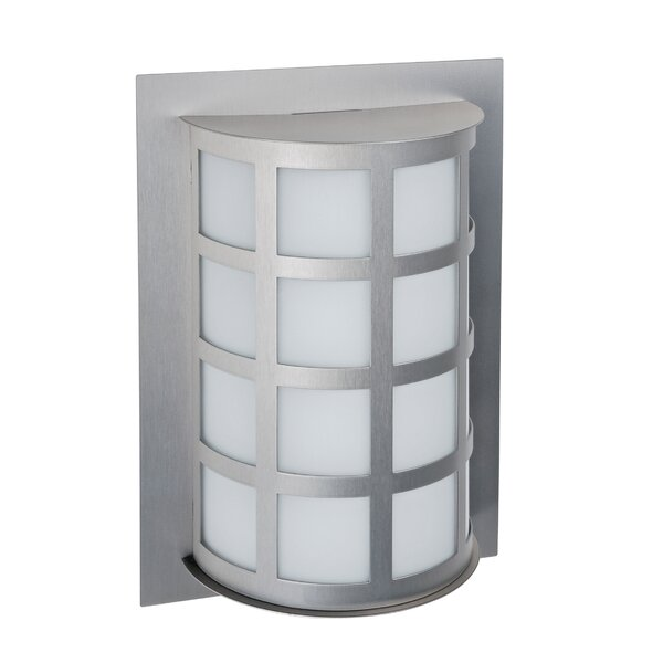 Caufield 1-Light Outdoor Flush Mount by Latitude Run