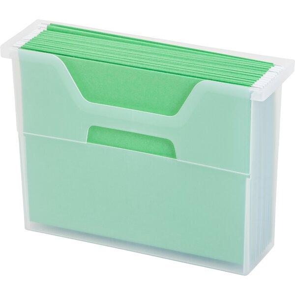 Desktop File Box (Set of 6) by IRIS USA, Inc.