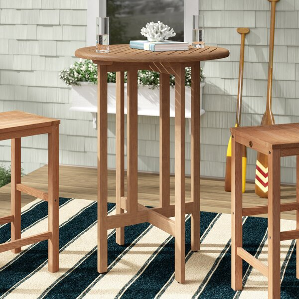 Elsmere Solid Wood Bar Table By Beachcrest Home