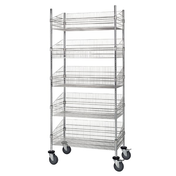 Mobile Post 80 Five Shelf Shelving Units by Quantum Storage