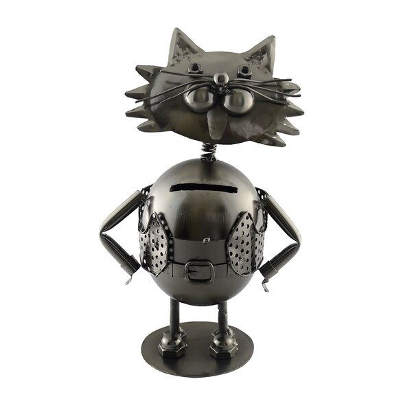 Cat Piggy Bank by Wine Bodies