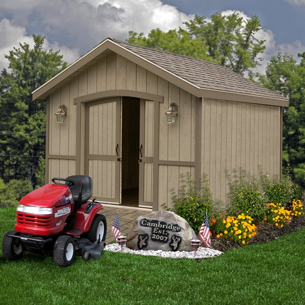 Cambridge Without Window Solid Wood Storage Shed by Best Barns