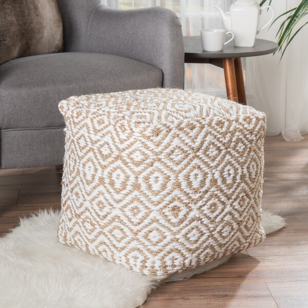 Sheldon Pouf by Highland Dunes