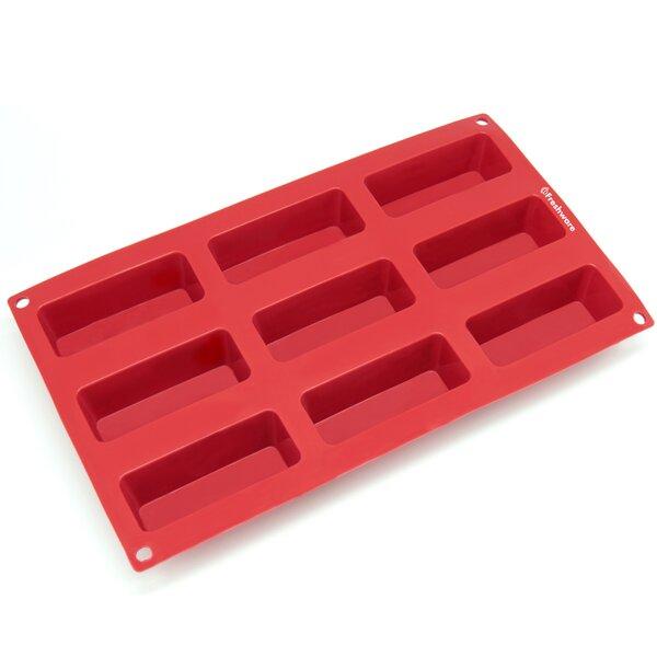 9 Cavity Narrow Silicone Mold Pan by Freshware