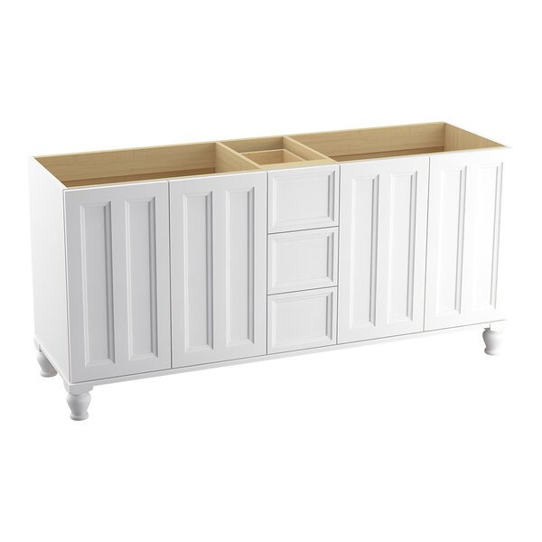 Damask™ 72 Vanity with Furniture Legs, 4 Doors and 3 Drawers by Kohler