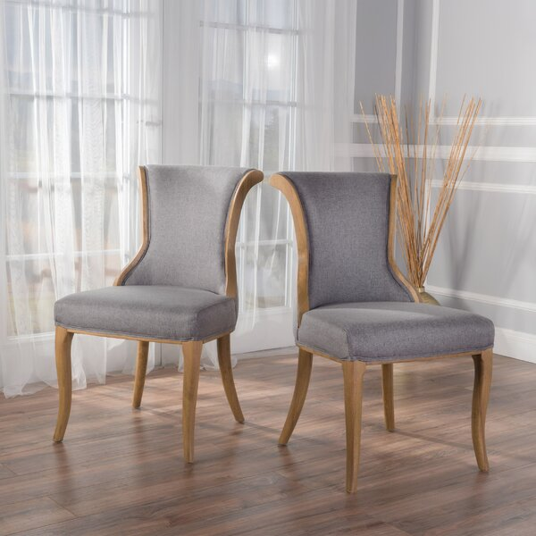 Keil Upholstered Dining Chair (Set of 2) by Willa Arlo Interiors
