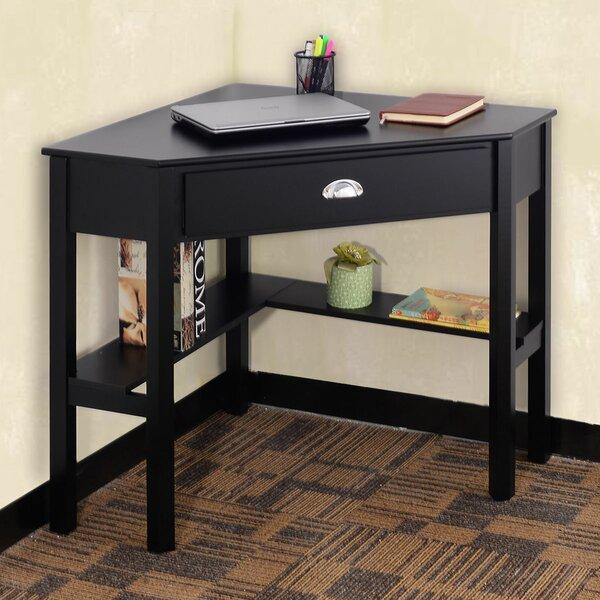 Hueramo Corner Writing Desk by Latitude Run