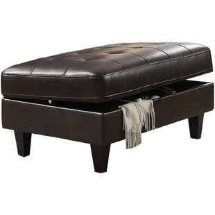 Riverton Upholstered Tufted Storage Ottoman