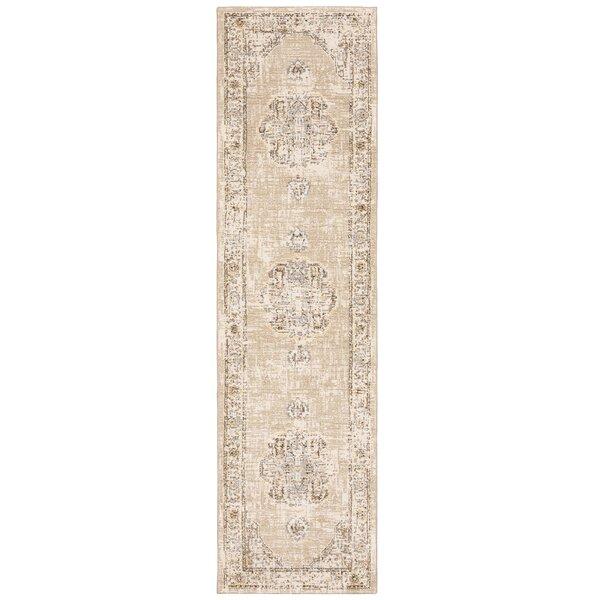 Dow Oriental Beige/Ivory Area Rug