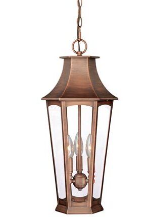 Wilberforce 3-Light Outdoor Hanging Lantern by Darby Home Co