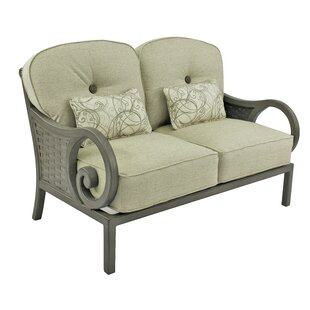 Riviera Loveseat with Cushions by Leona