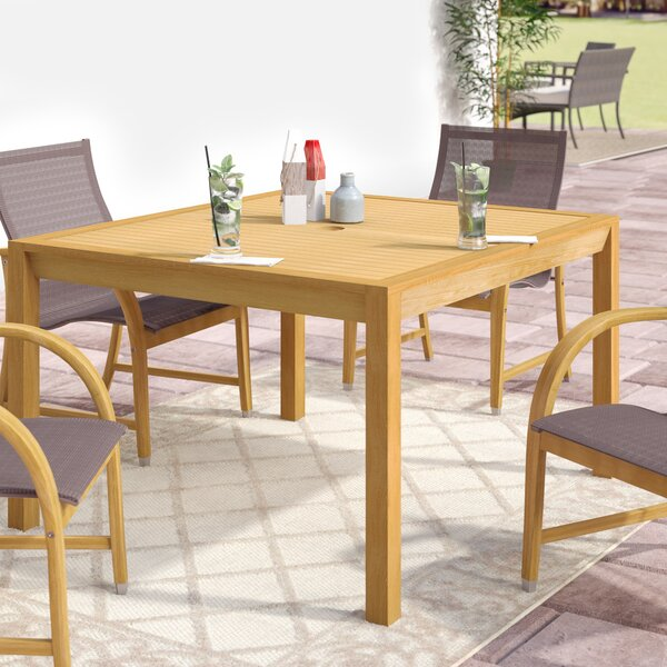 Harpersfield Dining Table by Beachcrest Home