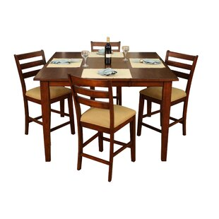 Este 5 Piece Counter Height Pub Set By American Heritage Coupon