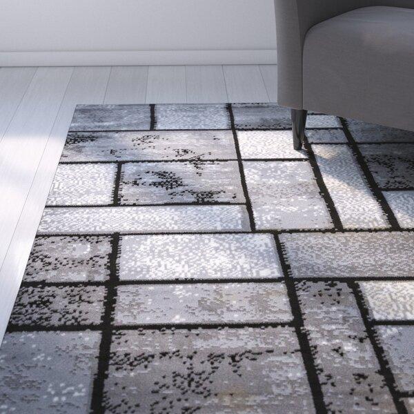 Giuliana Dusty Brick Gray Area Rug by Zipcode Design