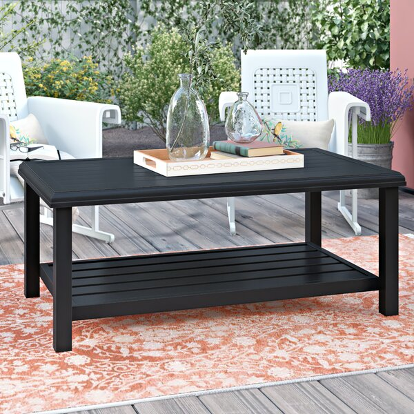 Schum Metal Coffee Table by Ivy Bronx