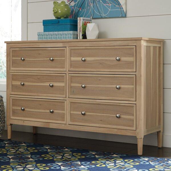 Orlovista 6 Drawer Double Dresser by Rosecliff Heights