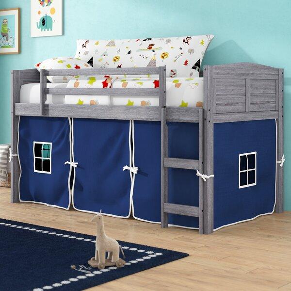 Coles Twin Low Loft Bed by Zoomie Kids
