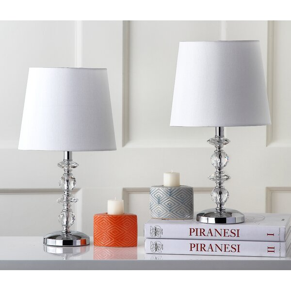 Luiza Stacked Orb 15 Table Lamp (Set of 2) by Willa Arlo Interiors