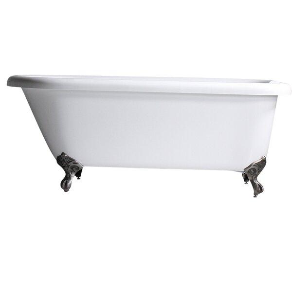 Hotel Acrylic Classic 65 x 32 Freestanding Soaking Bathtub by Baths of Distinction