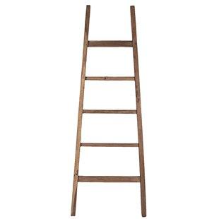 Teak Arch 6 ft Decorative Ladder by Ibolili