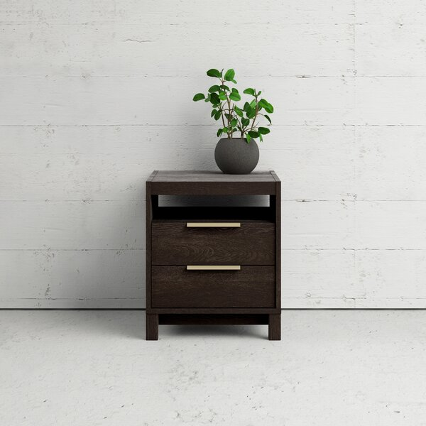 Glynda 2 Drawer Nightstand by Ivy Bronx