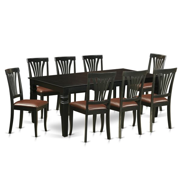 Appel 9 Piece Dining Set by Darby Home Co