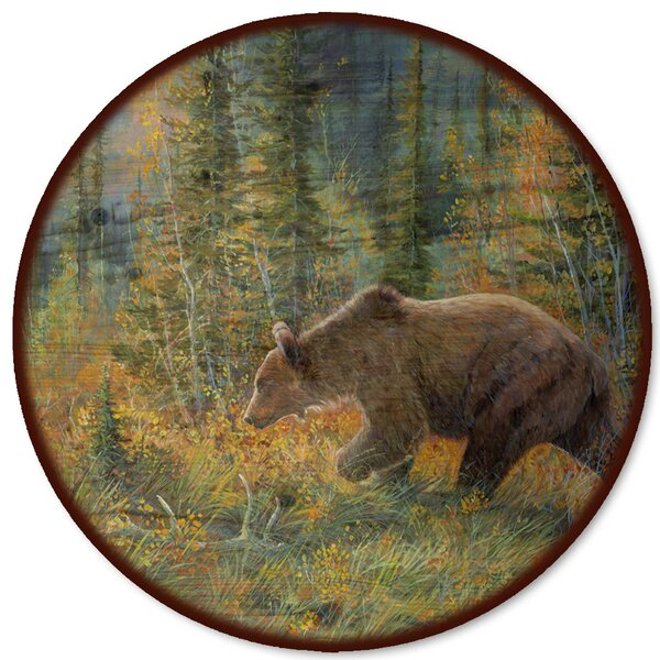The Grizzly Walk Lazy Susan by WGI-GALLERY