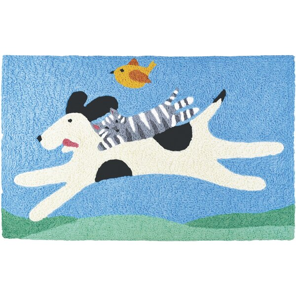 Mutt and Kit Flying Kitchen Mat