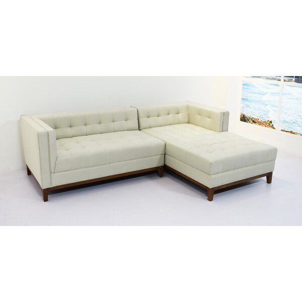 Cletus Right Hand Facing Sectional By Ivy Bronx