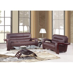 Aramis 2 Piece Living Room Set (Set of 2) by Latitude Run