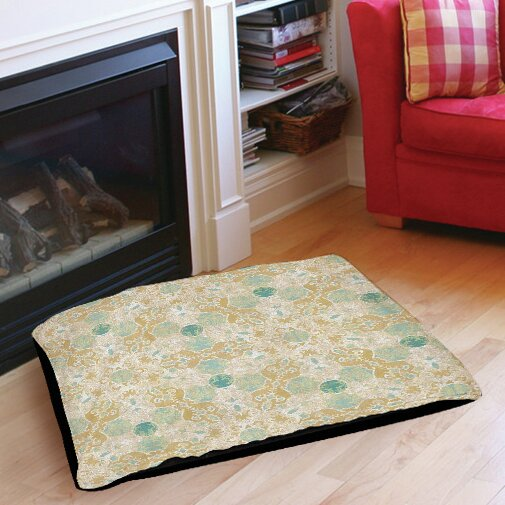 Tea House Patterns 12 Indoor/Outdoor Pet Bed by Manual Woodworkers & Weavers